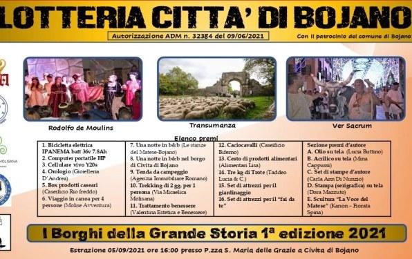 Borghi grande storia lotteria a Bojano