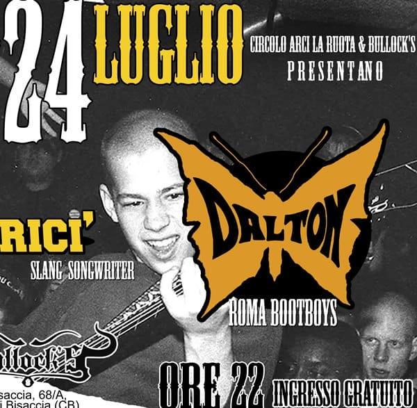 Dalton Bricì a Montenero. Musica dal vivo per l'estate molisana