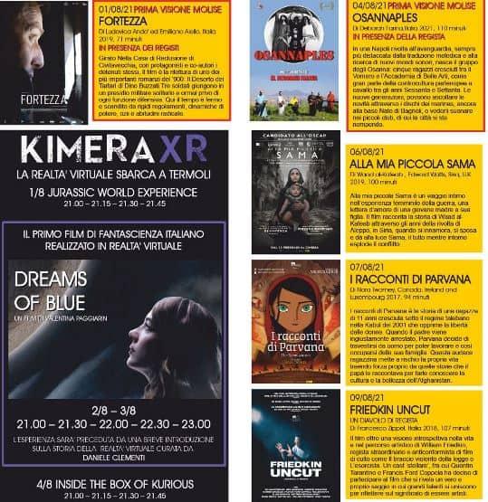 Cinemare Termoli Kimeraxr in prima assoluta le tecnologie del futuro
