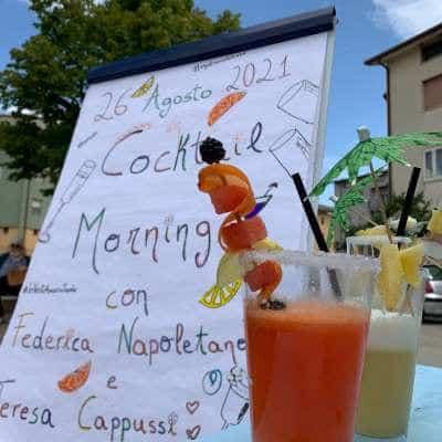 Cocktail Morning grande successo. Aperitivi d'autore in piazza a Bojano per la food influencer
