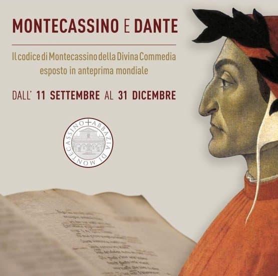 Divina Commedia Codice 512 in anteprima mondiale a Montecassino
