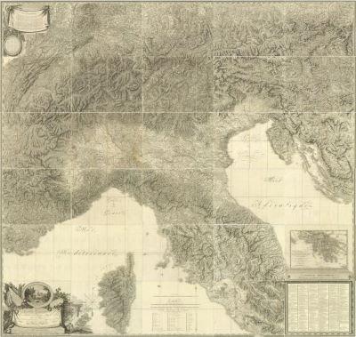 Cartografia in epoca Napoleonica, in Umbria due mostre su concetto di territorio e della sua rappresentazione