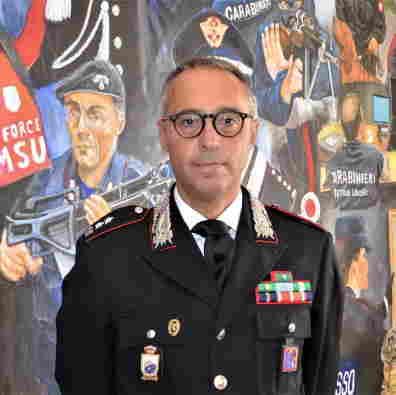 Tenente colonnello Luigi Dellegrazie, nuovo comandante Provinciale Carabinieri Campobasso