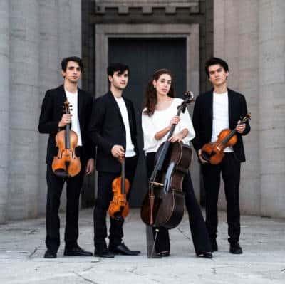 Quartetto EOS talenti italiani sulle orme di Mozart. Quattro under25 pluripremiati