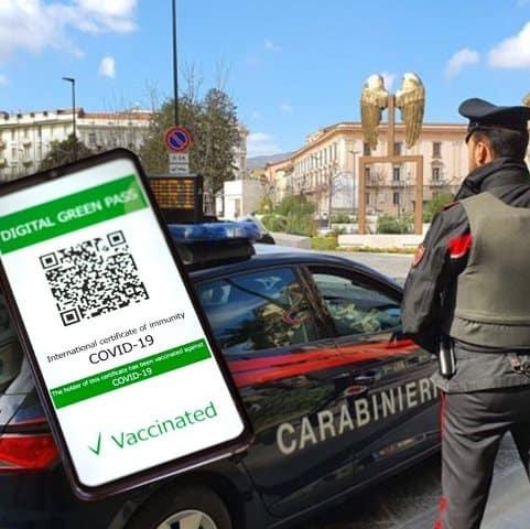 Carabinieri contro Greenpass obbligatorio. Insorge il sindacato dell'Arma